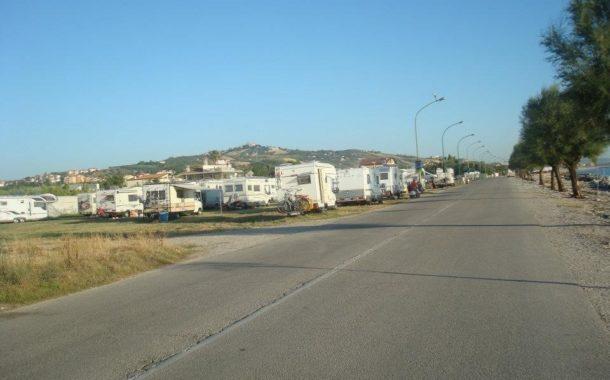 Roseto & aree di sosta camper abusive. La Faita Abruzzo: