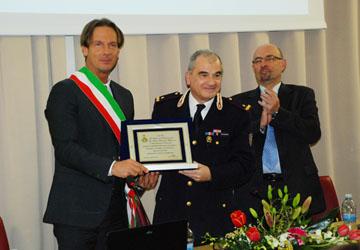 Giulianova& sede Polfer. Il Sindaco Mastromauro polemico con Mercante.