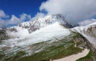Meteo pazzo. Prima neve sul Gran Sasso D'Italia