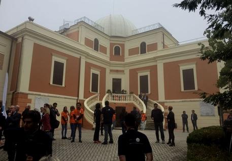 La Ministra Fedeli all'Osservatorio d'Abruzzo.