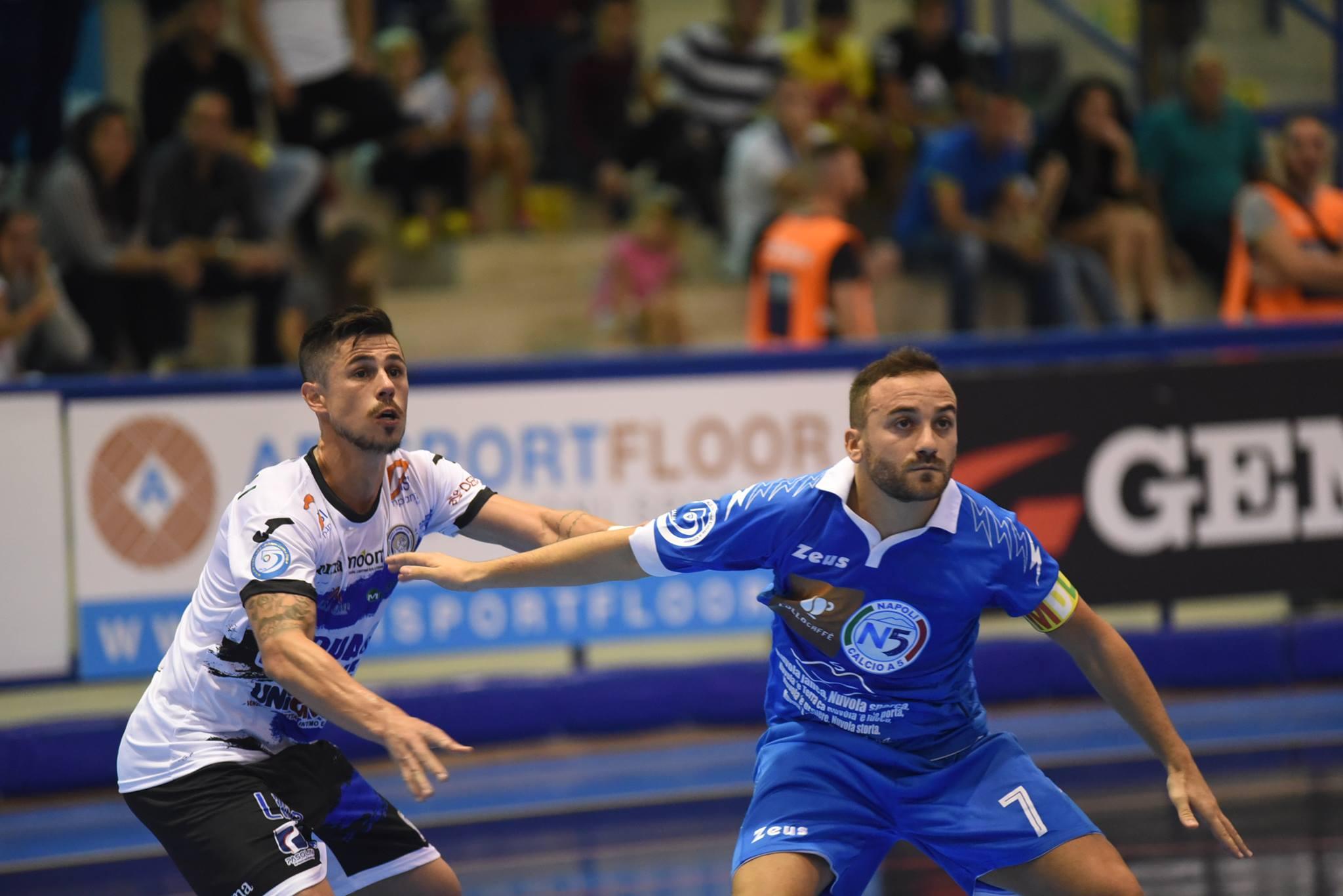 Calcio a 5 Campionato serie A. Acqua&Sapone:falsa partenza a Napoli