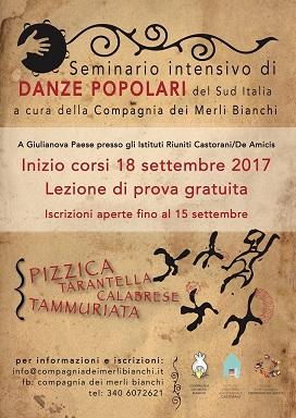 Giulianova.Arriva(dal 18 settembre) un seminario sulle