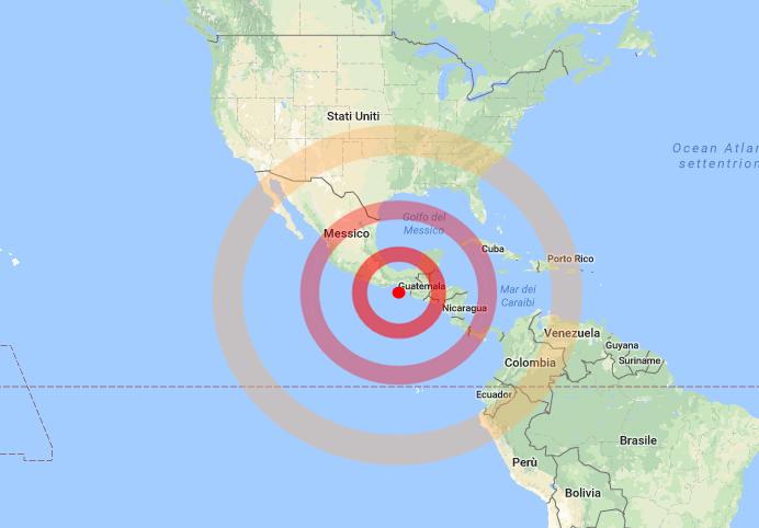 Terremoto in Messico( ore 23:49 (6:49 ora italiana) di magnitudo 8.4). Parziale bilancio:sei  morti