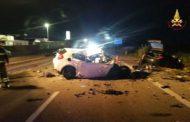 Notte tragica sulla Statale Adriatica: tre giovani morti in un incidente stradale /FOTO