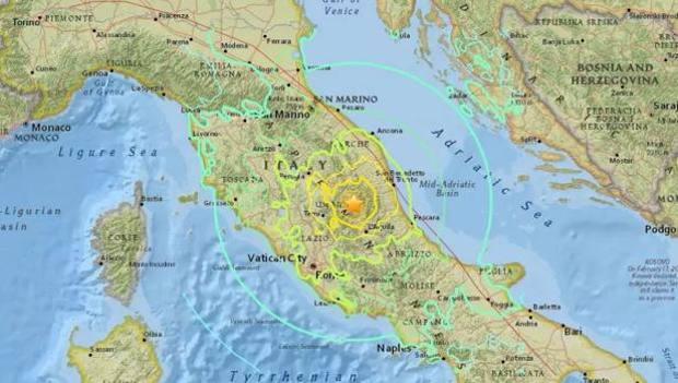 Terremoto. Scossa di magnitudo 3.6 tra Capotosto e Amatrice alle ore 4:48