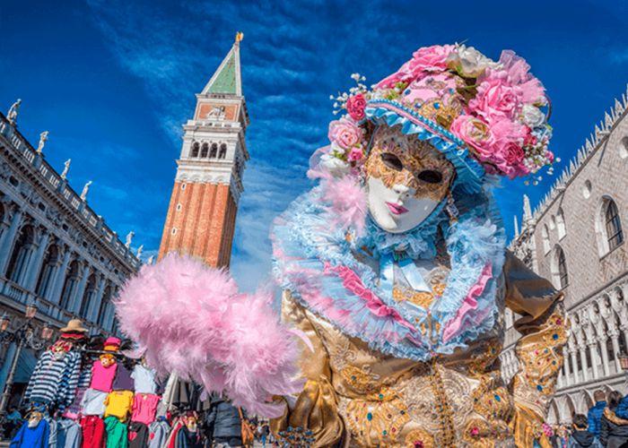 Carnevale di Venezia 2018: Pineto con la