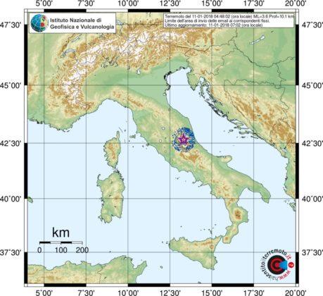 Terremoto. Ad Arquata nuove scosse all'alba. Paura nel centro Italia