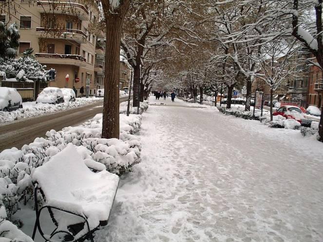 Marche. Continua a nevicare in tutta la Regione