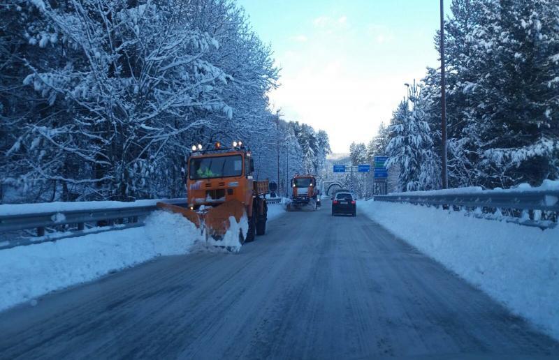 Ascoli Piceno&Provincia.Maltempo: è scattato il piano neve. Transito regolare sulle arterie provinciali
