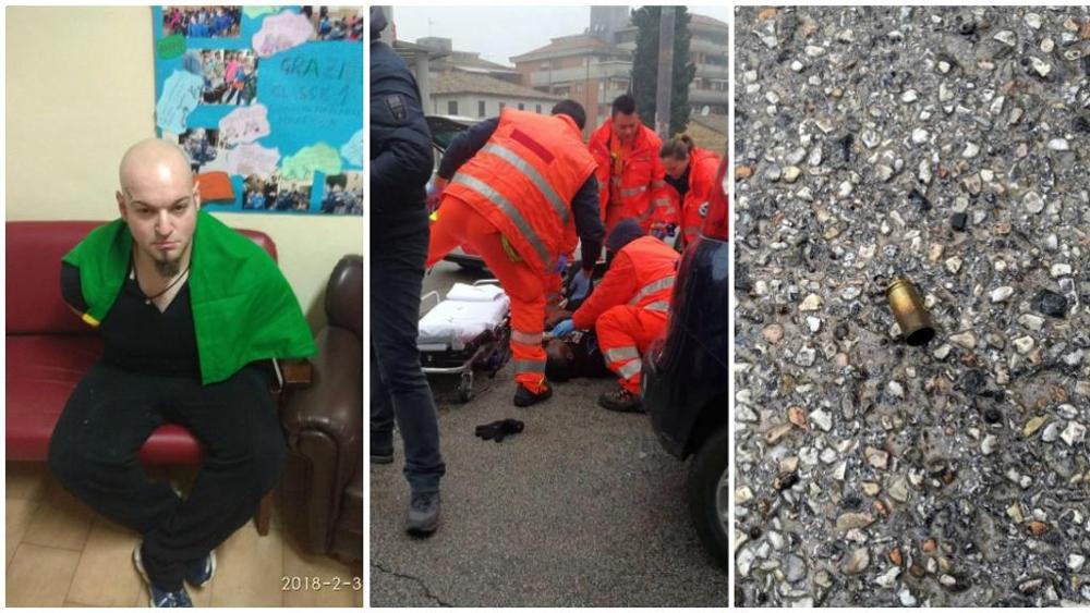 Terrore a Macerata:spari all'impazzata per le strade.Alcuni feriti. Il Sindaco:
