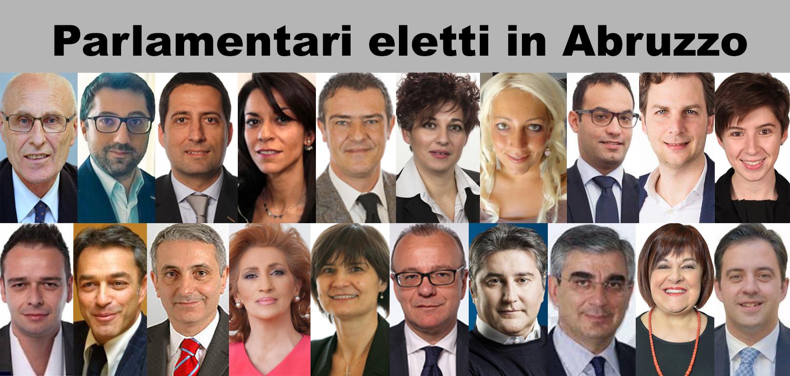 Abruzzo elezioni.Terremoto politico: ecco i nomi di tutti i parlamentari eletti