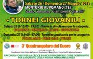Montorio al Vomano& Calcio giovanile.Torna il
