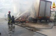 Ascoli-Mare: a fuoco un camion. Solo spavento, ma nessun ferito