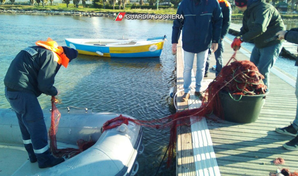 Pesca illegale: la Guardia Costiera sequestra rete da pesca