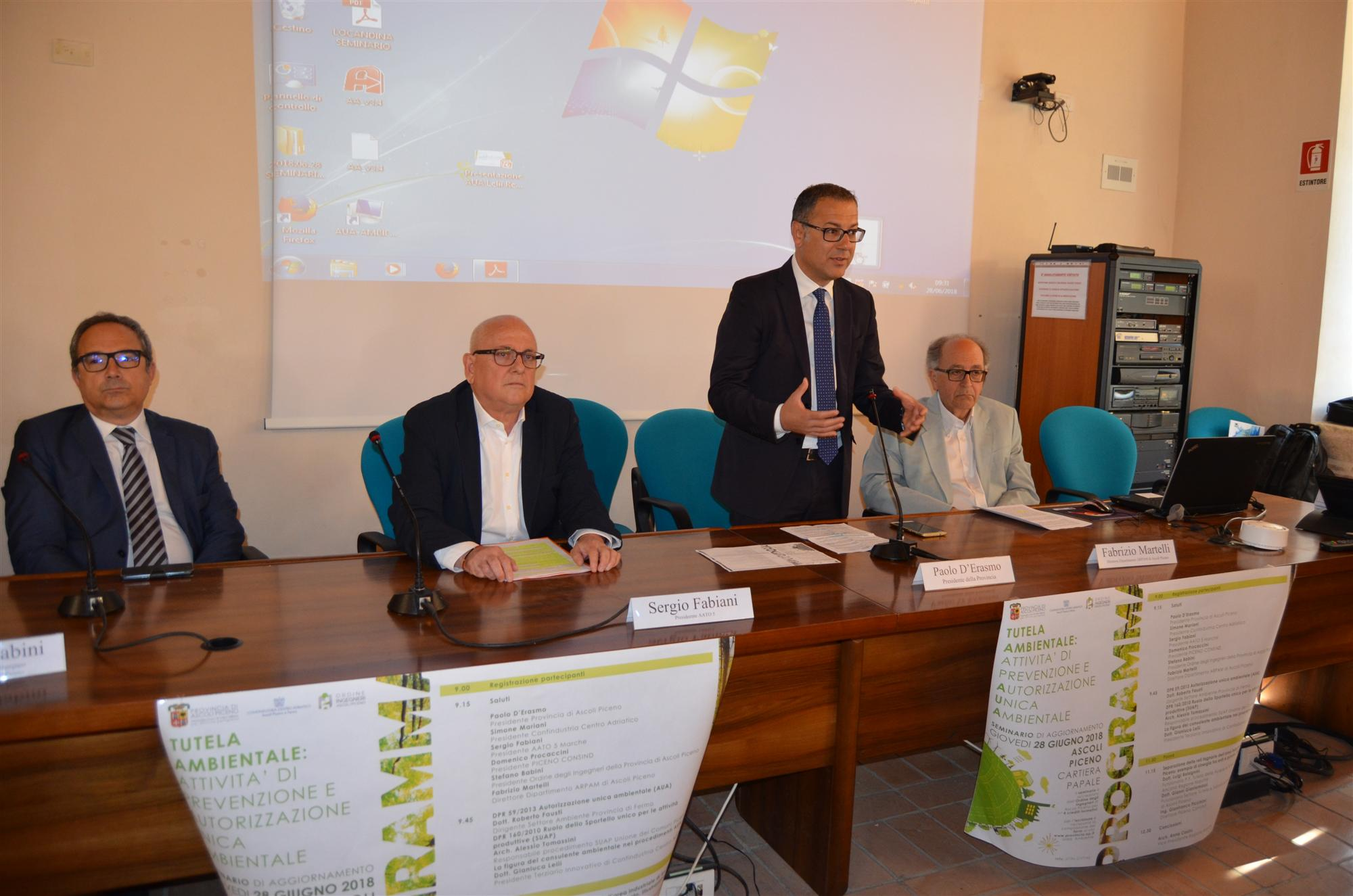 Ascoli Piceno&Provincia. Seminario AUA: uniti per tutelare e migliorare l'ambiente/FOTO