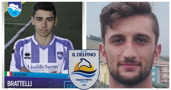 Calcio Eccellenza.Doppio colpo per il Delfino Flacco Porto: arrivano Di Rosa e Brattelli