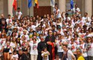 Isola del Gran Sasso. XXXVIII Tendopoli di San Gabriele:arrivederci dal Cardinale Bertone con il messaggio del Papa/FOTO