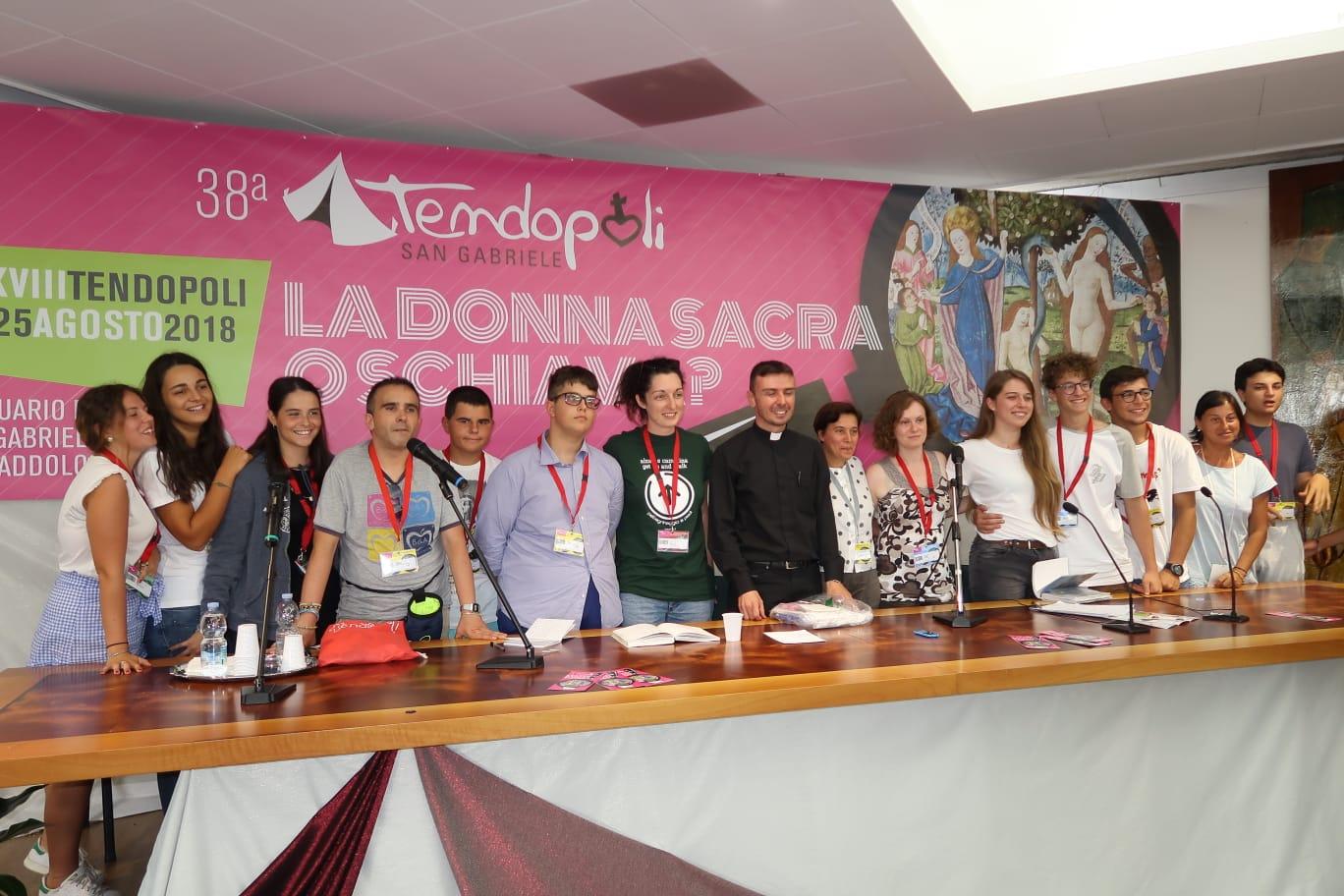 Isola del Gran Sasso.Tendopoli di San Gabriele: intervento di Gigi De Palo, Presidente del Forum delle famiglie