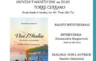 Editoria&Libri.Torre di Cerrano: presentazione del Libro di Alessandro Gasparroni