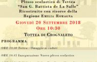 Dopo terremoto a Tottea di Crognaleto: si inaugura la nuova