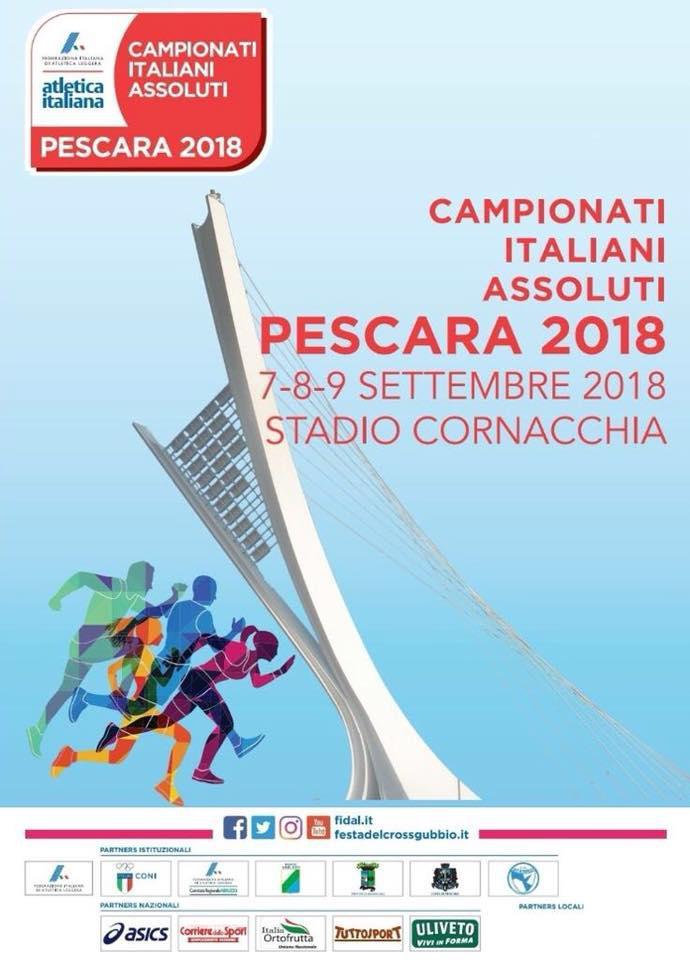 Pescara. Atletica leggera: da oggi fino a domenica Campionati italiani 2018. Arrivano i big