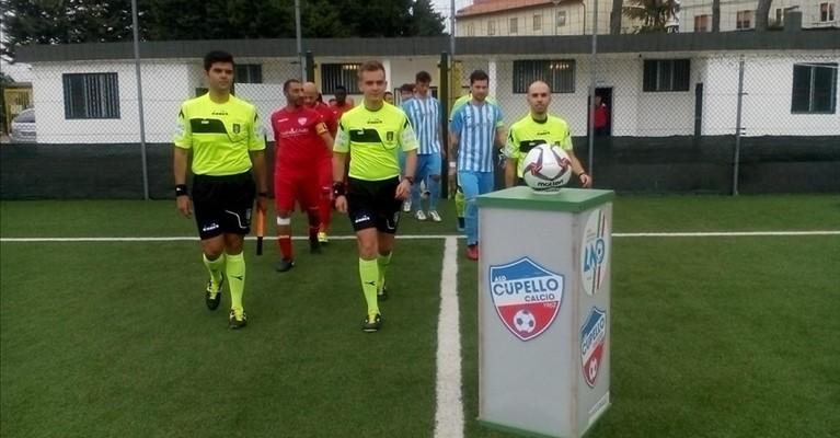 Calcio Eccellenza.Pareggio (1-1)