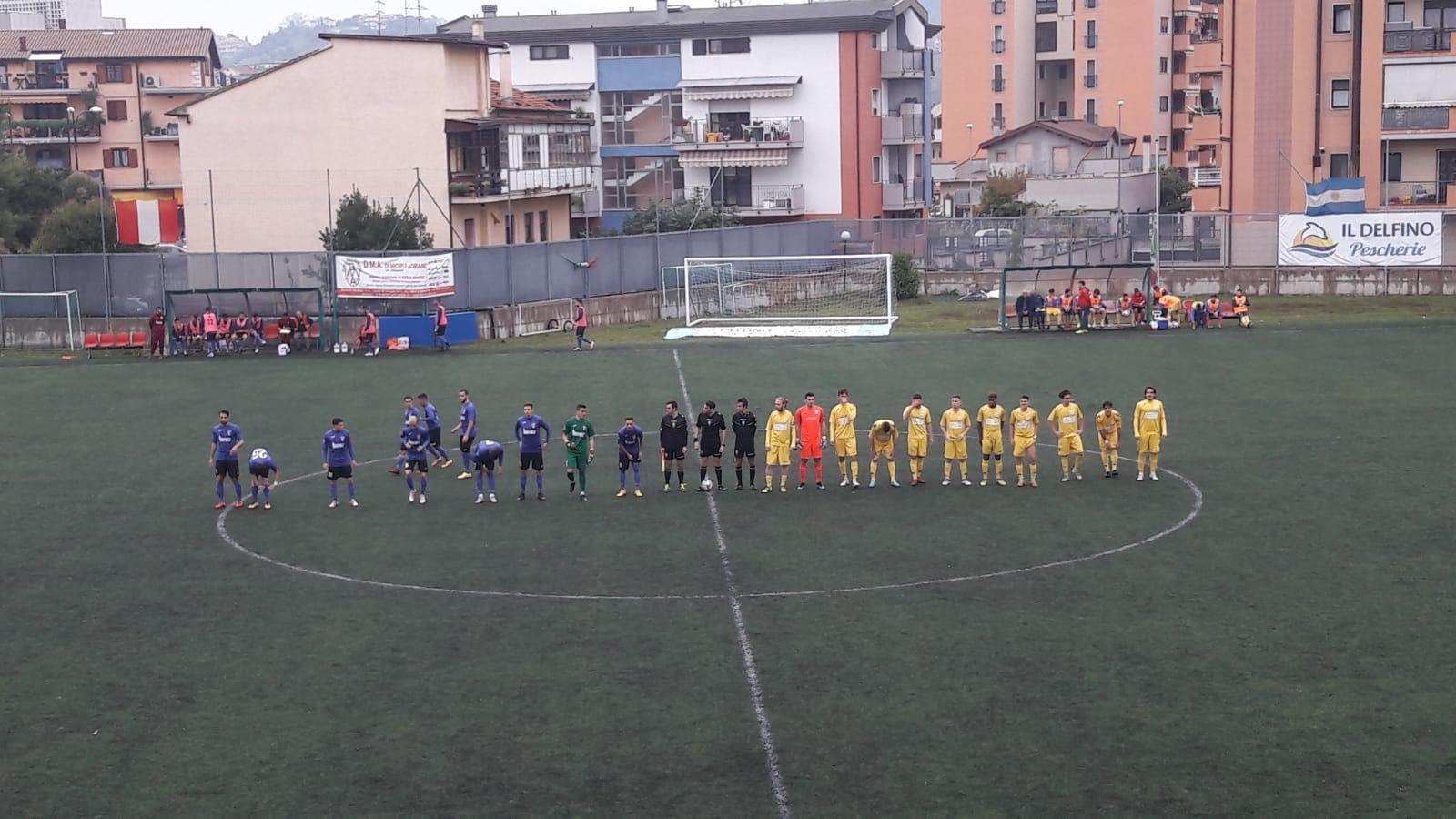 Calcio eccellenza pareggio 2 2 e spettacolo tra delfino for Piscina sambuceto