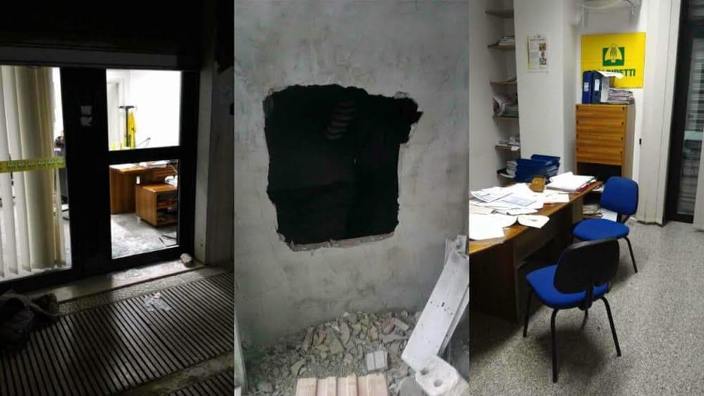 Ladri alla Coldiretti: tagliata la cassaforte. Preso d'assalto anche un impresa funebre