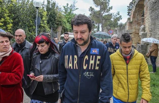 Salvini nelle Marche: