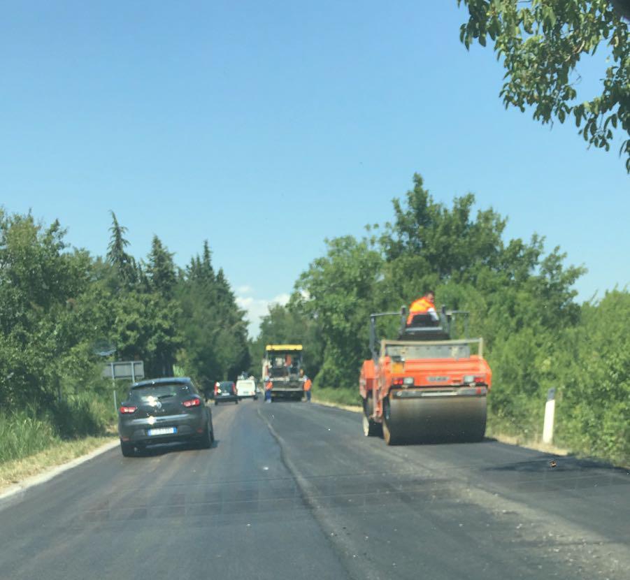 Sant'Omero. Partiti i lavori sulla strada provinciale 17 Garrufo-Villa Ricci/FOTO