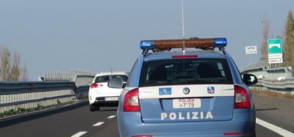Contromano sulla A14: fermato dalla Polizia Stradale e patente sospesa