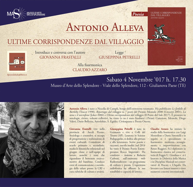 Giulianova. Museo dello Splendore: presentazione del libro di Antonio Alleva