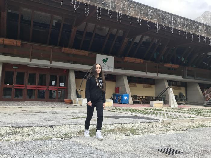 Terremoto e conseguenze: pattinatrice fa 700 km per allenarsi