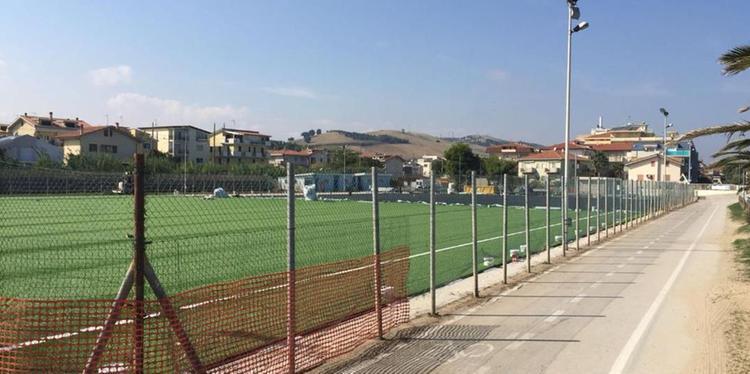 Pineto.Inaugurazione del nuovo campo sportivo