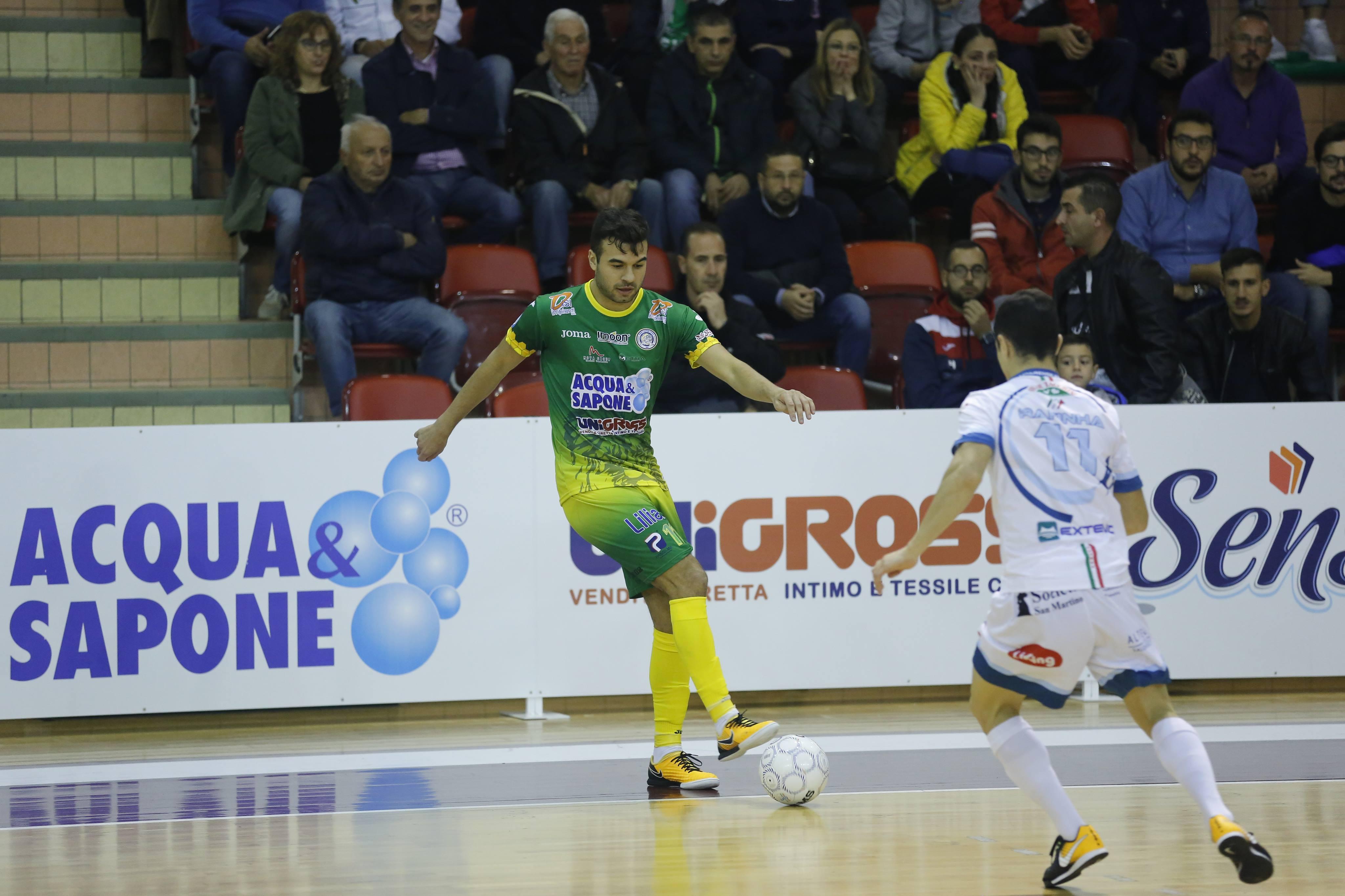 Calcio a 5. Contro Came Dosson ancora una sconfitta (4-3) per l'Acqua&Sapone