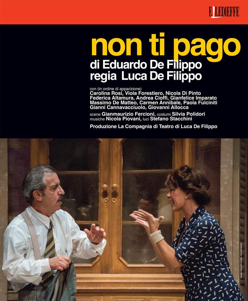 Cagli & Teatro: arriva la Compagnia di Luca De Filippo con