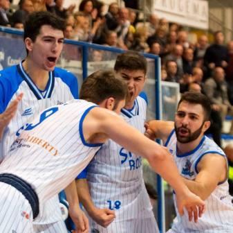 Roseto Basket. Contro il Ferrara una vittoria (81-79) di