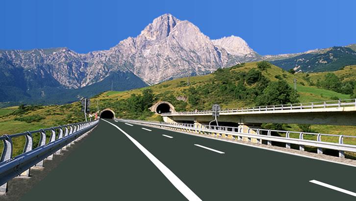 Abruzzo&A24 e A25: i cantieri non chiuderanno.Continuano i lavori di  messa in sicurezza