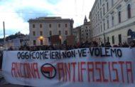 Corteo antifascista contro la concessione di spazi pubblici all'ultradestra