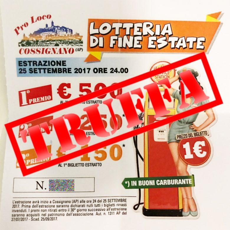 Scoperta una lotteria fantasma: si indaga per truffa