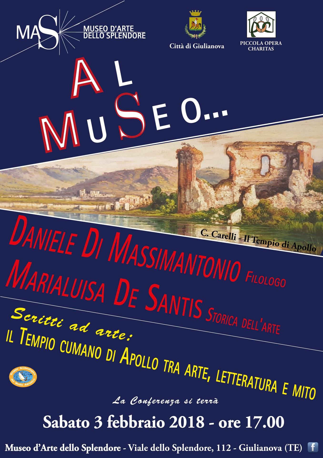 Giulianova&Museo dello Splendore. Conferenza su: