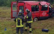 A14. Pulmino di calciatori fuori strada: feriti sette ragazzi. Tre in gravi condizioni