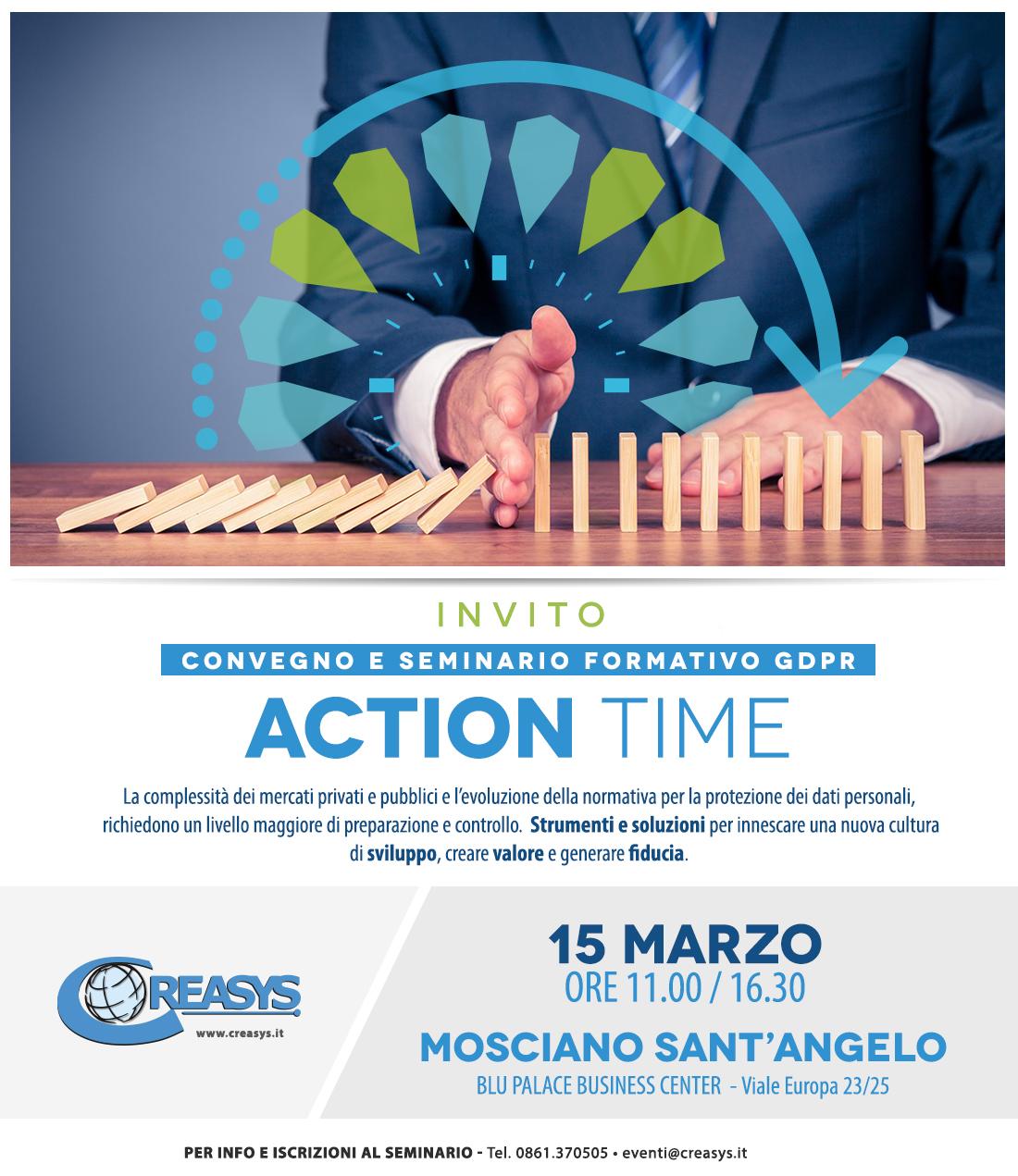 Mosciano&Blu Palace. Convegno-seminario sul nuovo regolamento