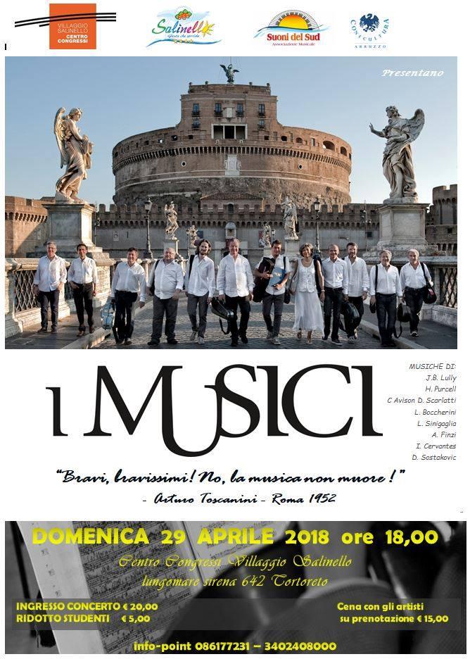 Tortoreto&Village Salinello: concerto de