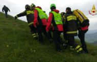 Un uomo è stato colpito da un fulmine: i Vigili del Fuoco lo salvano