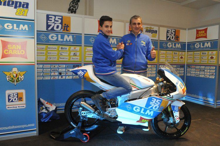 Motomondiale. Il rosetano Stefano Nepa debutterà in Moto3 al Mugello domenica prossima