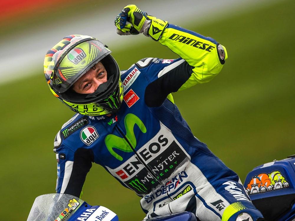 News Nazionali. MotGp. Catalogna, Valentino Rossi vola nelle prove libere