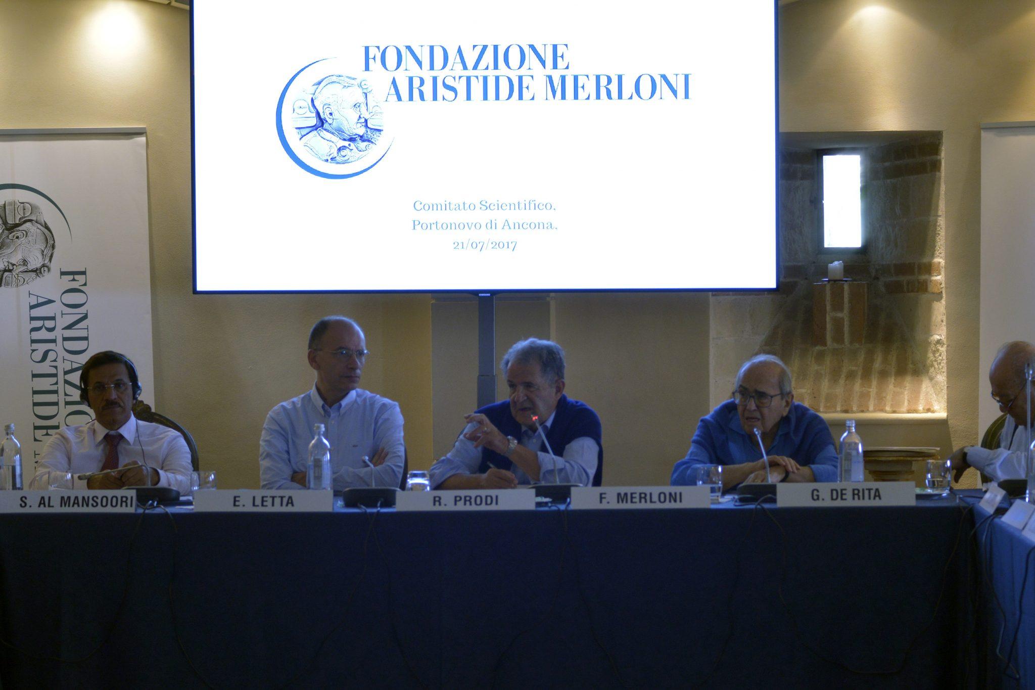 Fondazione Merloni. Tre giorni di studi :