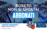 Roseto Basket. Parte la campagna abbonamenti: ecco tutti i prezzi, le novità e lo slogan
