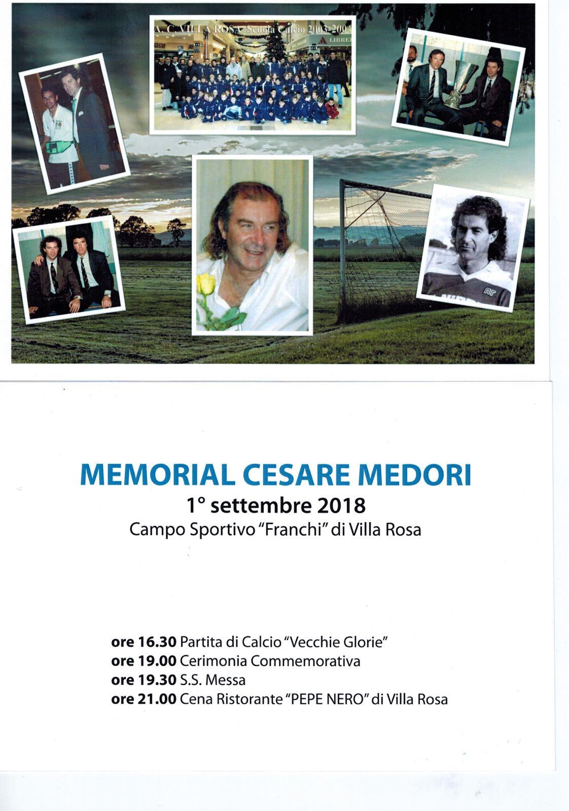 Martinsicuro Calcio.Domani (1° settembre 2018) a Villa Rosa